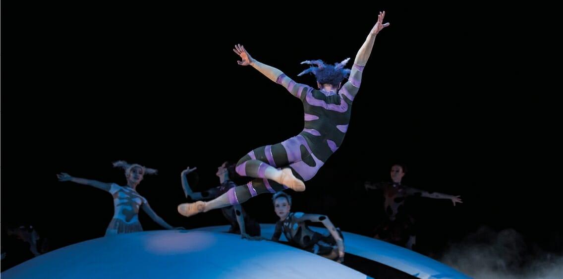 """Choreographical performances """"Le Songe"""" by Les Ballets de Monte-Carlo"""