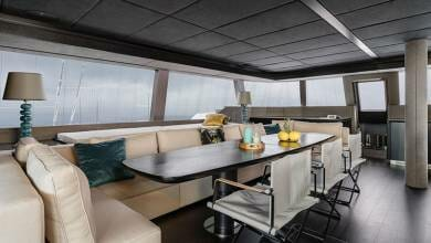 Photo of The first pictures of the Sunreef 70 Ginette and other yachts news