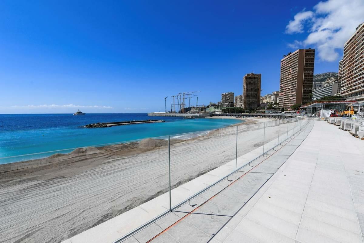 Larvotto Beach is Reopening Soon