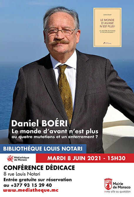 Talk and Book Signing Daniel Boéri