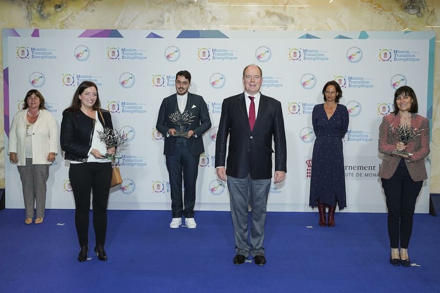 Prince Albert attends Energy Transition Conference