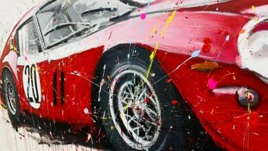 Photo of A unique painting exhibition dedicated to Ferrari is held in Monaco