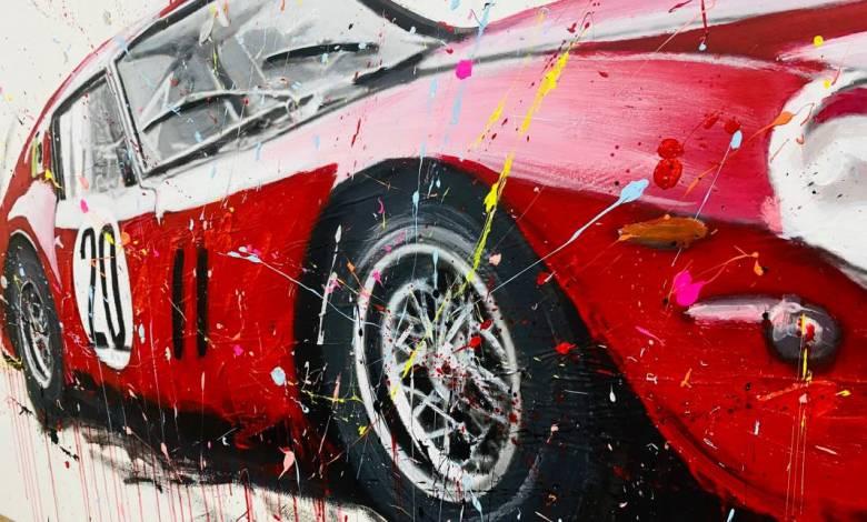 A unique painting exhibition dedicated to Ferrari is held in Monaco