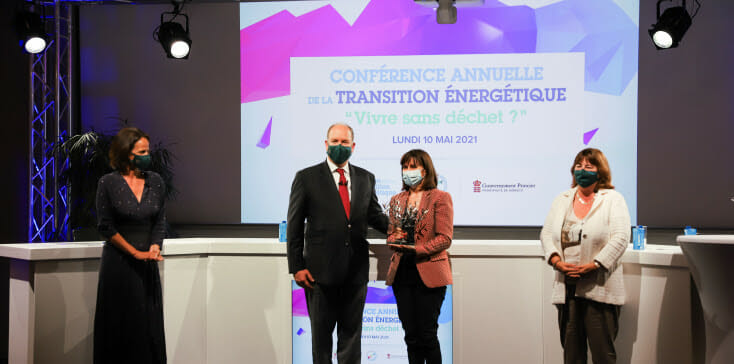 The Mission for Energy Transition awards the Grimaldi Forum