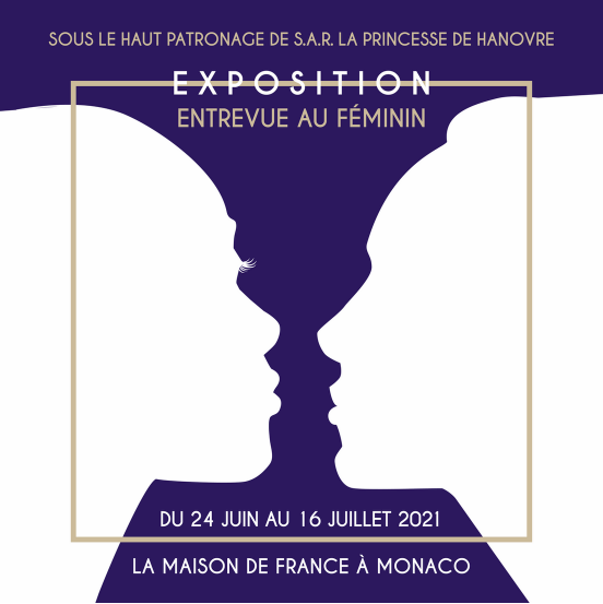"""Exhibition on the theme """"Entrevue au Féminin"""" (""""Interview with a Woman)"""