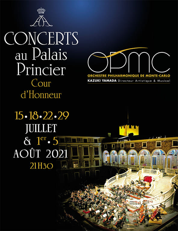 Symphonic concert by the Monte-Carlo Philharmonic Orchestra
