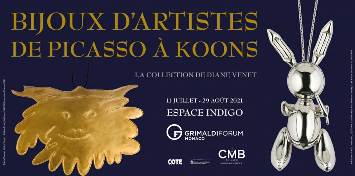 Exhibition - Artists' Jewelery - From Picasso to Koons - the Diane Venet Collection