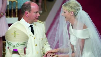 Photo of Albert and Charlène are celebrating their 10-year wedding anniversary! The prince and the mermaid, a love story