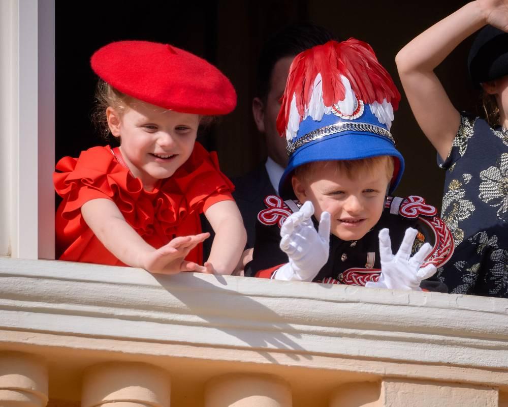 Prince Jacques and Princess Gabriella