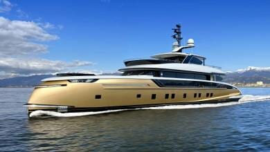 Photo of Golden Stefania from Dynamiq Yachts combines contemporary style with ocean going performance