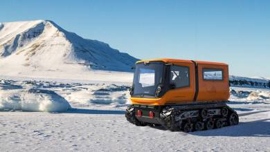 Photo of Venturi's Electric Polar Exploration Vehicle goes to Antarctica