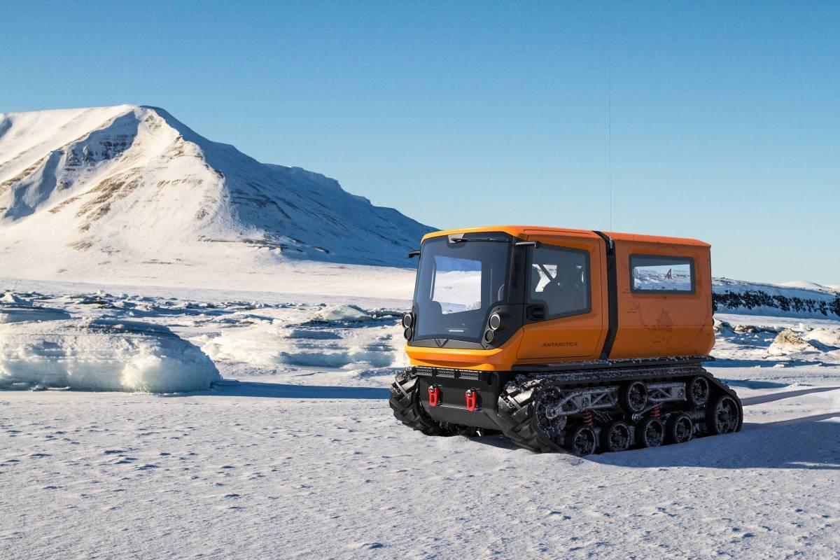 Venturi's Electric Polar Exploration Vehicle goes to Antarctica