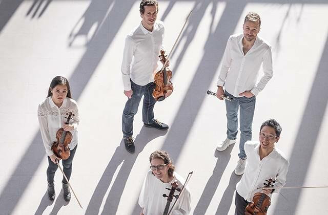 chamber music concert by the Les Vents du Sud Quintet