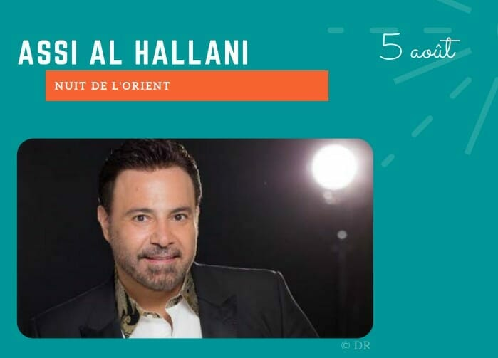 """Sporting Summer Festival 2021: """"Night of the Orient"""" with Assi Al Hallani"""