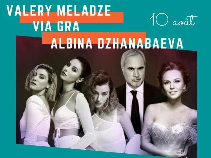 Sporting Summer Festival 2021: concert with Valery Meladze - Via Gra - Albina Dzhanabaewa