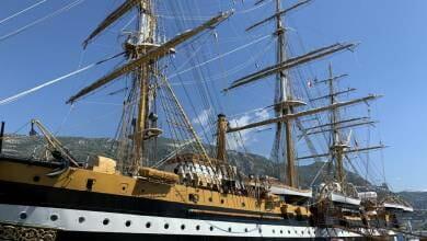 Photo of Italian Military Ship 'Amerigo Vespucci' visits Port Hercules