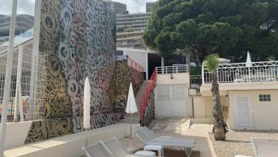 Photo of Monaco's Gigantic World Class Mural Observable from Space: Where is it?