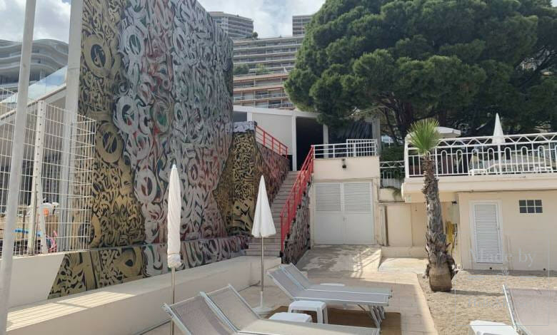Monaco's Gigantic World Class Mural Observable from Space