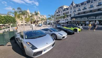 Photo of The Lamborghini Club Monaco Lights Up Place du Casino