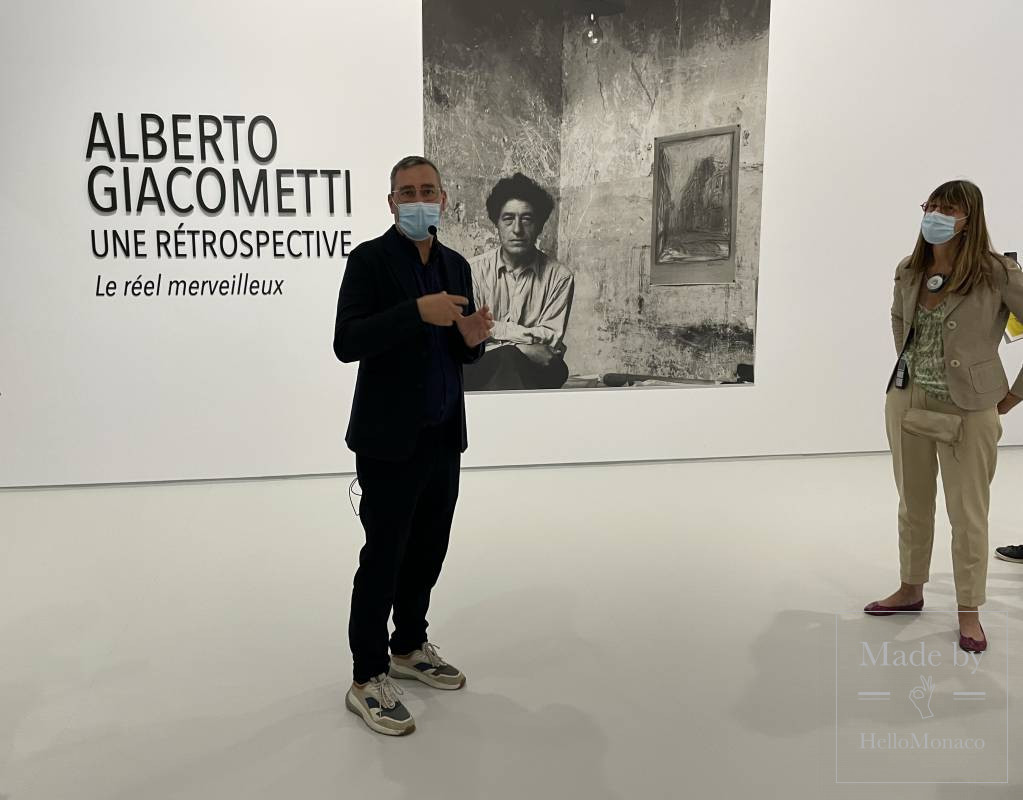 Alberto Giacometti exhibition
