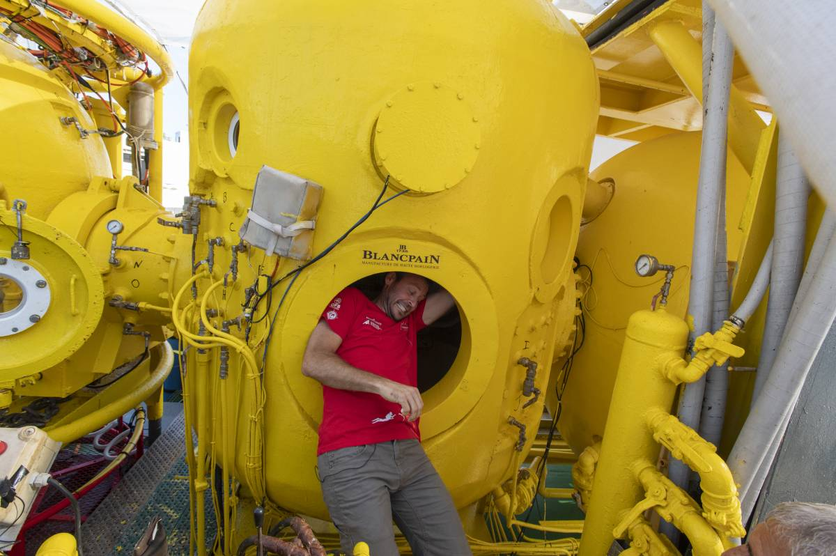 Gombessa 'Mission Cape Corse': news from the deep sea