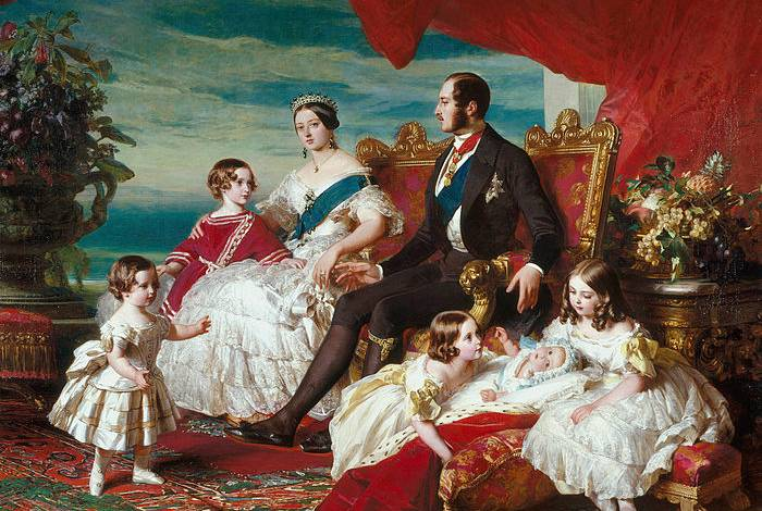 Queen Victoria and Prince Albert Family Tree