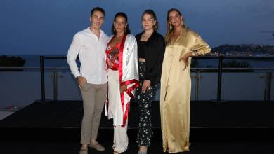 Photo of Fight Aids Gala: Princess Stephanie attends with all Three Children
