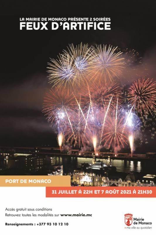 Port Hercule Explodes with Firework Displays & Lots More