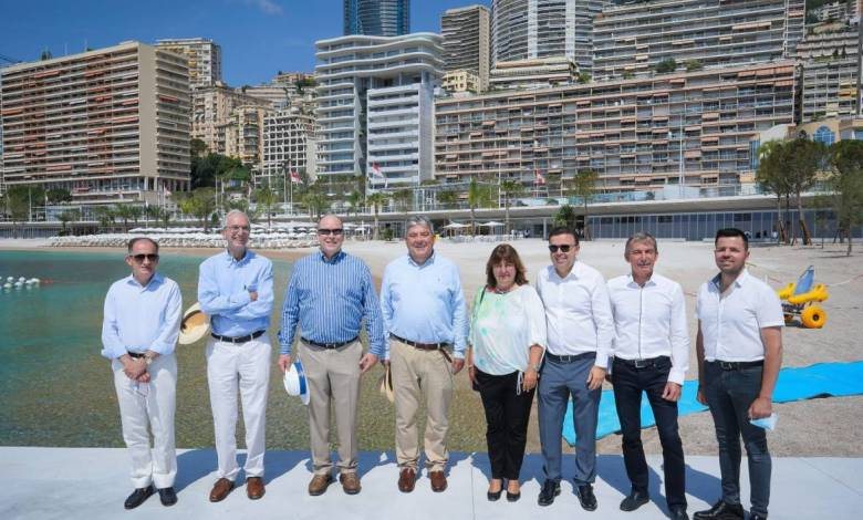Inauguration of the new Larvotto seaside resort
