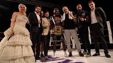 """Photo of English boxing to the sound of the waves: a series of exciting boxing events by """"Ambitious Monte-Carlo"""""""