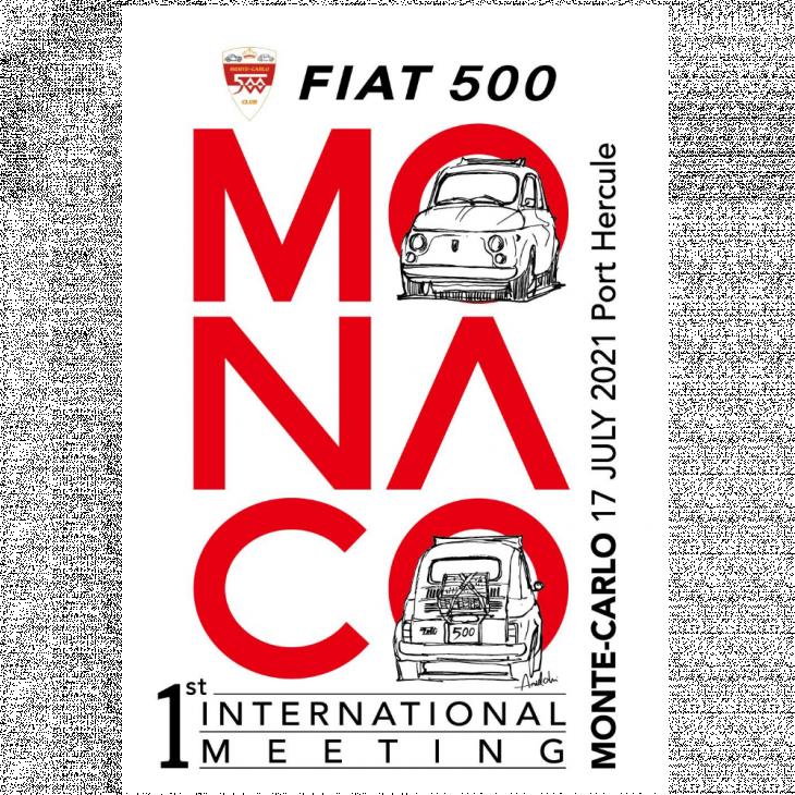 The 1st Monaco International Meeting Historicals Fiat 500