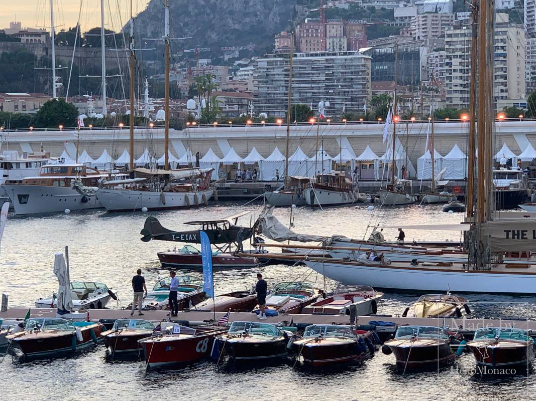A seaplane landed in Monaco for the first time in a century