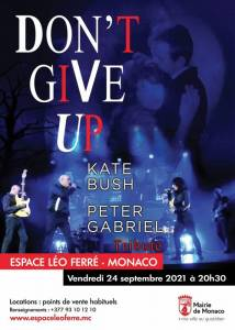 Concert Don't Give Up