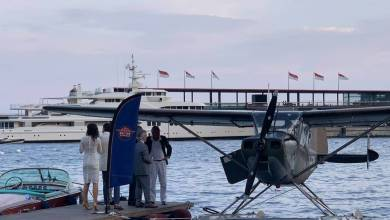 Photo of A seaplane landed in Monaco for the first time in a century