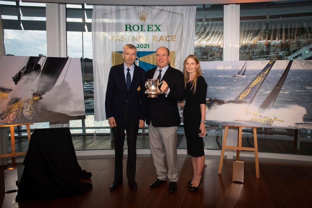 the Rolex Fastnet Trophy