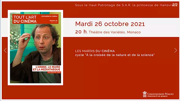 """Movie Tuesdays - screening of the film """"The Tree, the Mayor and the Mediatheque"""""""