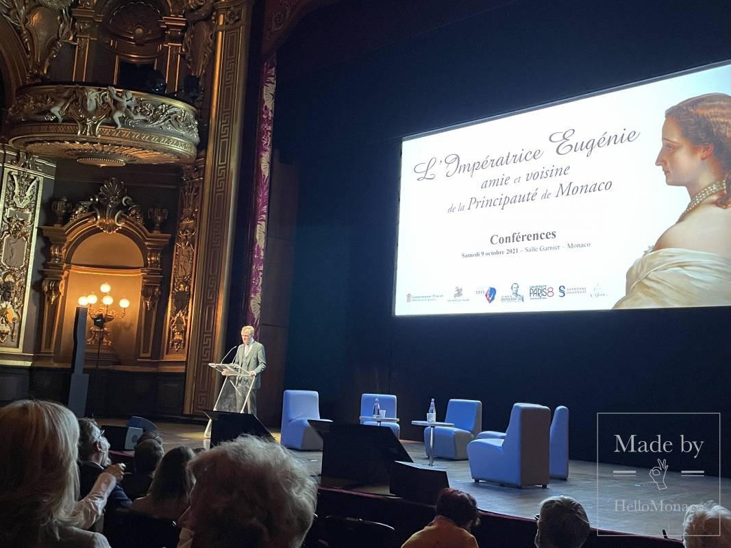 Empress Eugénie back to 'live' on the Rock of Monaco