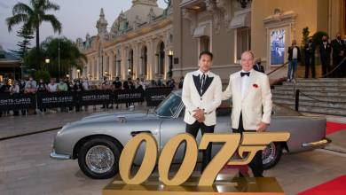 Photo of James Bond Preview 'No Time to Die' attended by Prince Albert II and other news