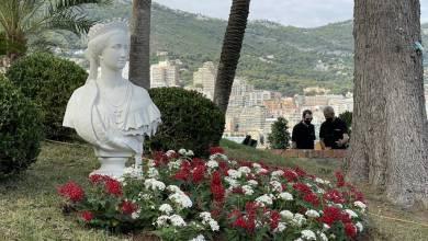 Photo of Empress Eugénie back to 'live' on the Rock of Monaco