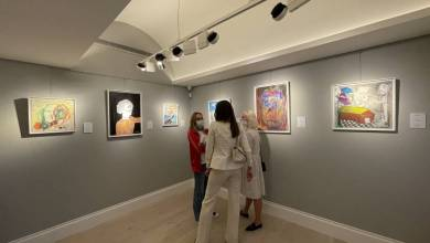 Photo of Monaco Disease Power & Moretti Fine Art support disabled youth through their Art