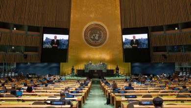 Photo of Prince Albert II participated in 76th United Nations General Assembly