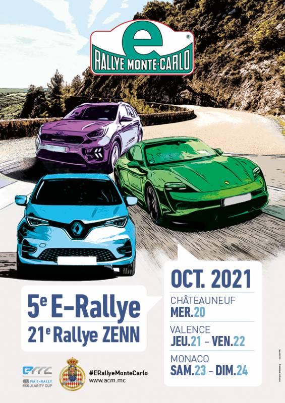 5th Monte-Carlo E-Rally – 21st Monte-Carlo ZENN Rally