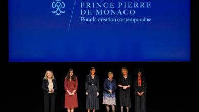 Photo of Artists honoured by the Philosophical Encounters of Monaco and the Prince Pierre of Monaco Foundation